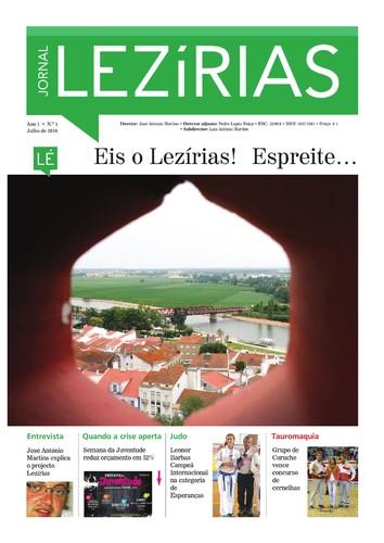 A partir das 15h já encontra o Jornal Lezírias à venda. Aproveite para comprar e saborear este novo projecto!