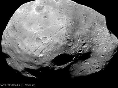Phobos, a Lua de Marte