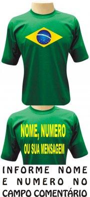 Camiseta Para Lanchonete Personalizada Uniforme Com Nome