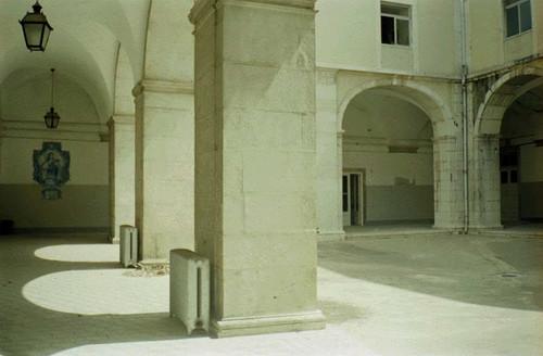 Hospital de Arroios. Claustro (In Skyscrapercity)