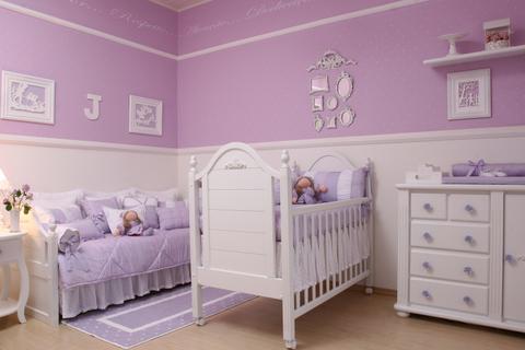 Tend ncia na decora o para beb s decora o quarto bebe for Decoracion habitacion bebe nina fotos