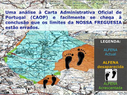 Mapa de Alfena