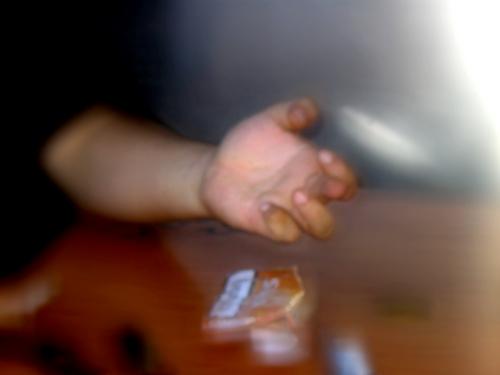 dedo estendido