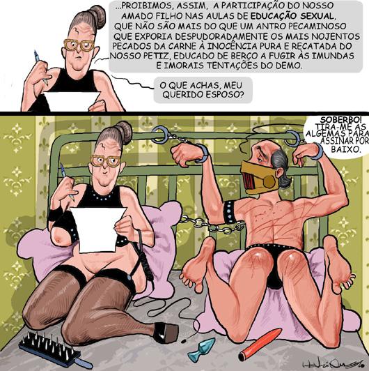 Pais proíbem educação sexual
