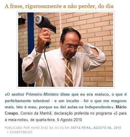 (in «A Civilização do Espectáculo»)