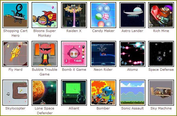 jogos arcade