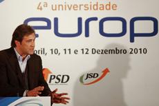Passos Coelho no encerramento da Universidade Europa