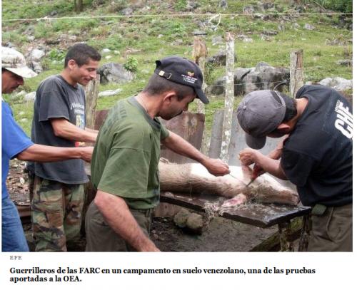 Farc, Venezuela, Mentiras