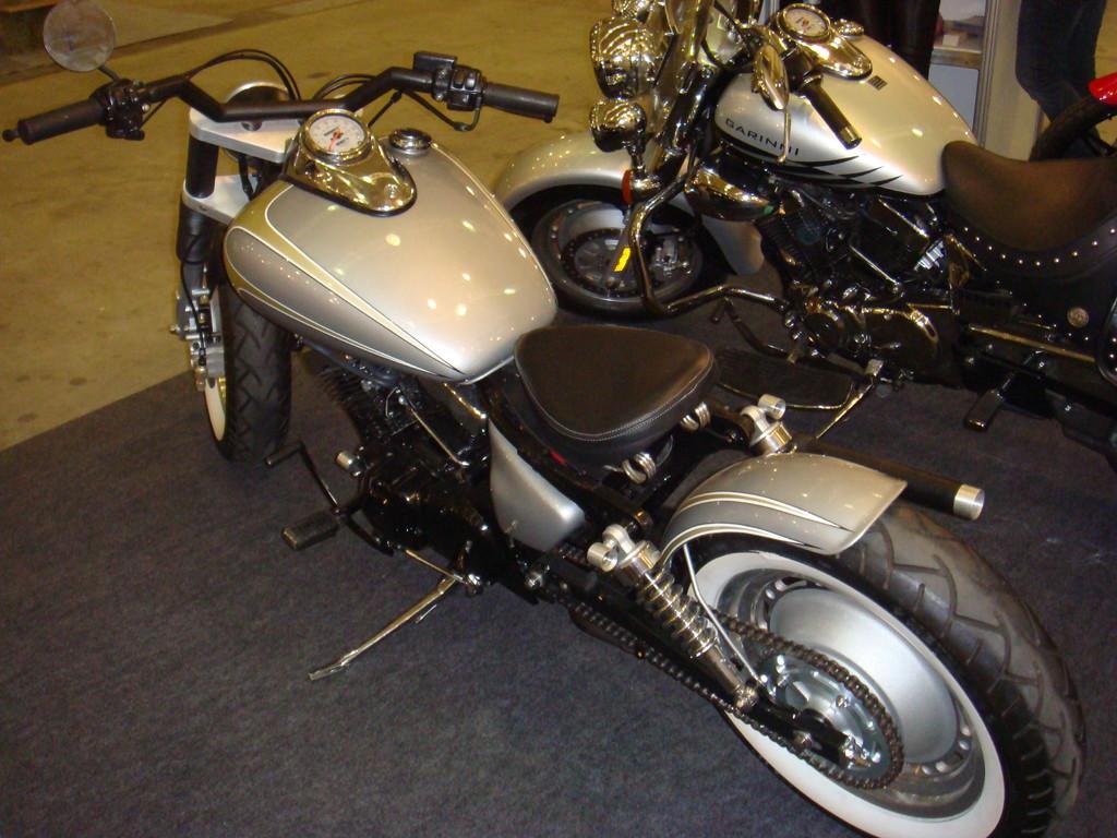 Moto-conceito Garinni Motors.