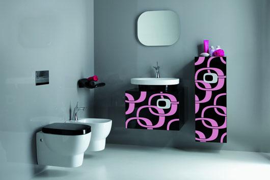 decoracao banheiro retro : decoracao banheiro retro: do banheiro e a escala das torneiras. Visite LAUFEN official site