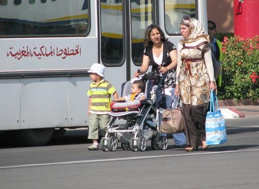 família marroquina