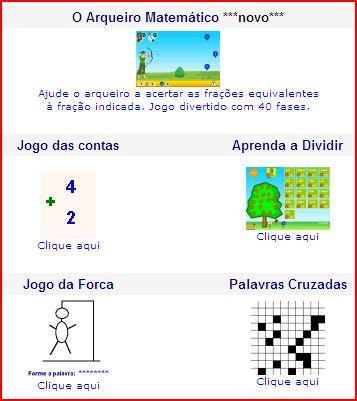 jogos de matemática para crianças