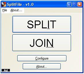 juntar separar ficheiros