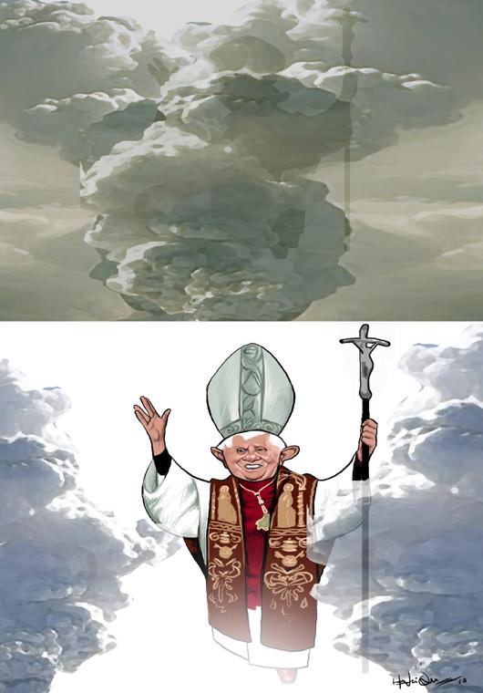 Habemus papa ... por entre as cinzas