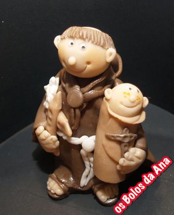 Topper Figura de açucar Santo António