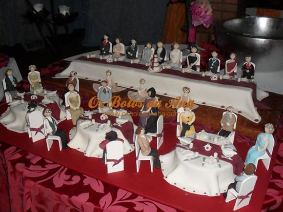 Bolo de Casamento Temático - A Boda