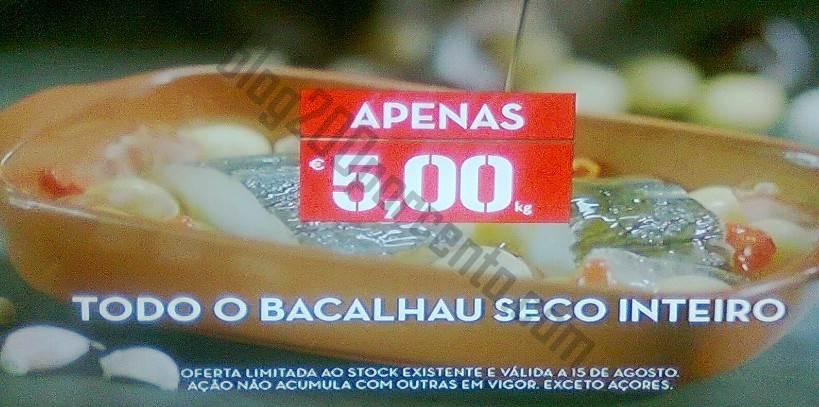 Bacalhau a 5€ no CONTINENTE amanhã dia 15 agosto - Foto