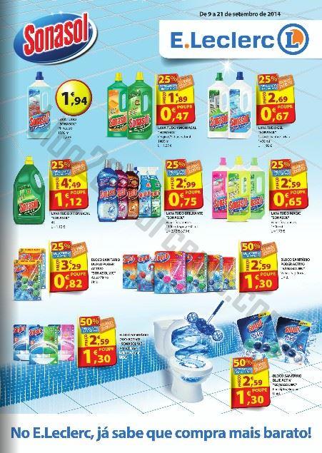 Novo Folheto E-LECLERC Henkel de 9 a 21 setembro
