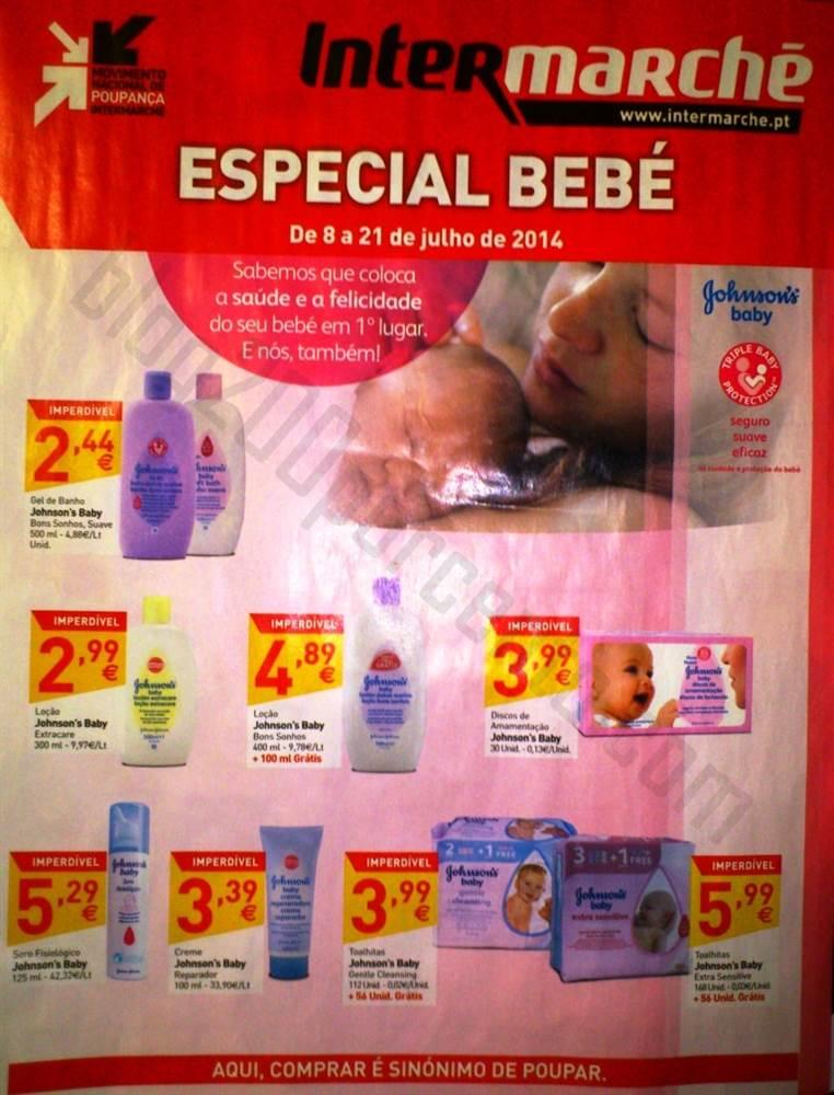 Antevisão Folheto INTERMARCHÉ Especial Bebé de 8 a 21 julho