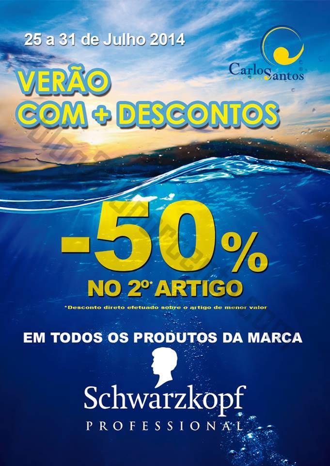 50% de desconto CARLOS SANTOS HS até 31 julho