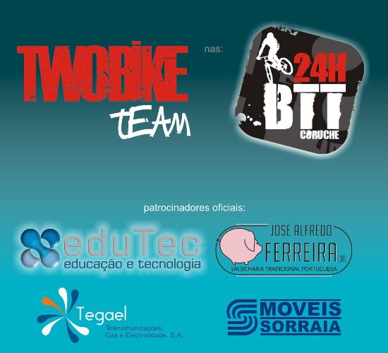 TWOBIKE Team nas 24 horas de BTT de Coruche