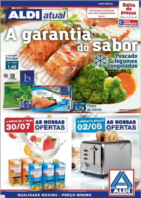 Antevisão Folheto ALDI Promoções a partir de 30 julho
