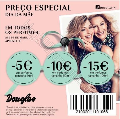 Desconto até 15€ | DOUGLAS | Perfumes, até 4 maio
