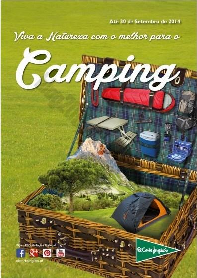Folheto | EL CORTE INGLÉS | até 30 setembro - Piscinas e Camping