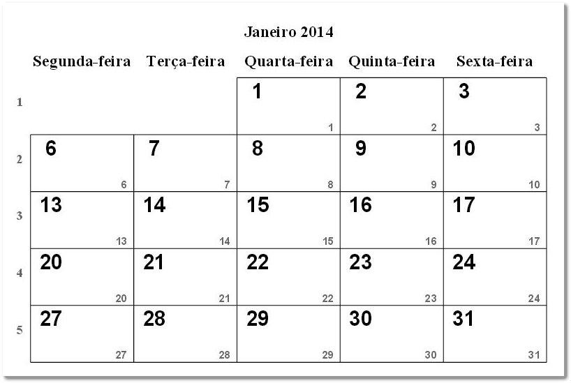 calendário 2014 imprimir grátis pdf calendar