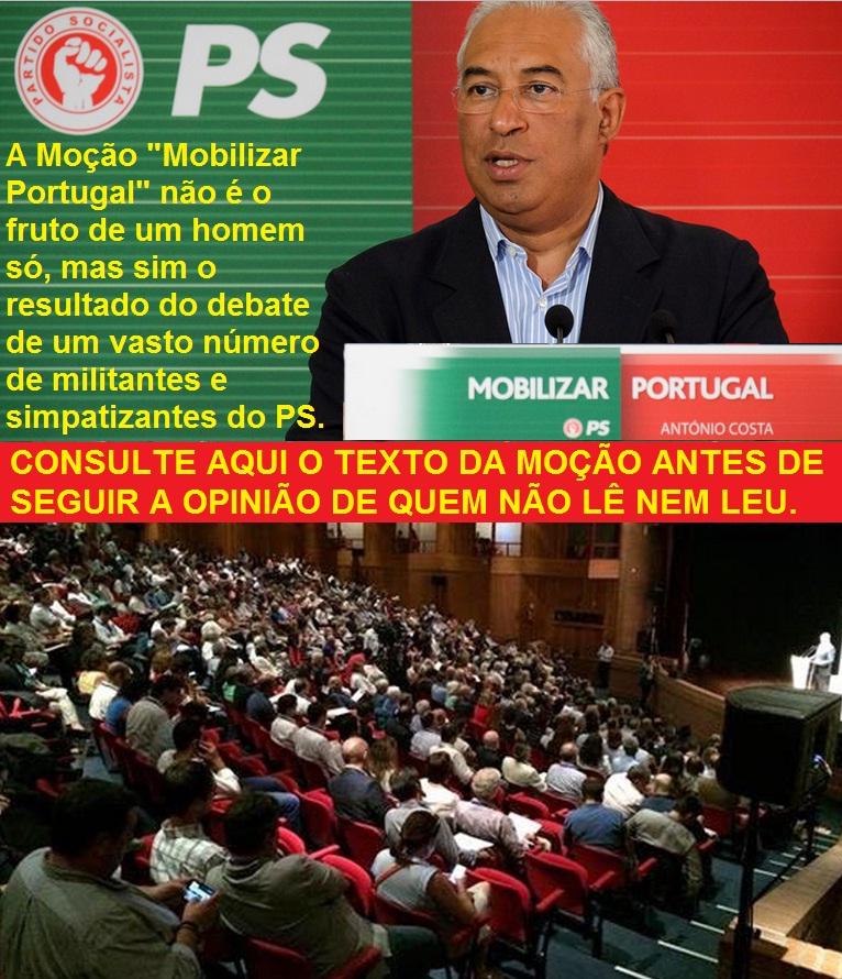 ps josé seguro antónio costa moção candidatura primárias partido socialista