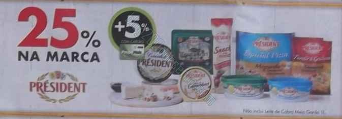 Acumulação 25% + 5% + Vale | PINGO DOCE | de 6 a 12 maio - President