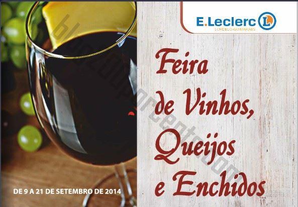 Antevisão folheto E-LECLERC Lordelo de 9 a 21 setembro - QEV