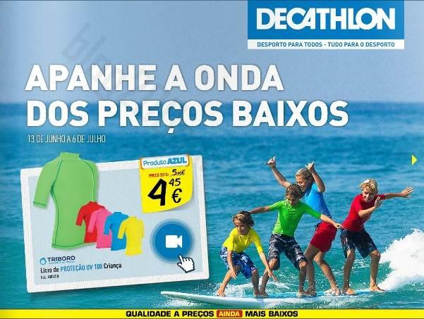 Antevisão Promoções Folheto DECATHLON de 13 junho a 6 julho