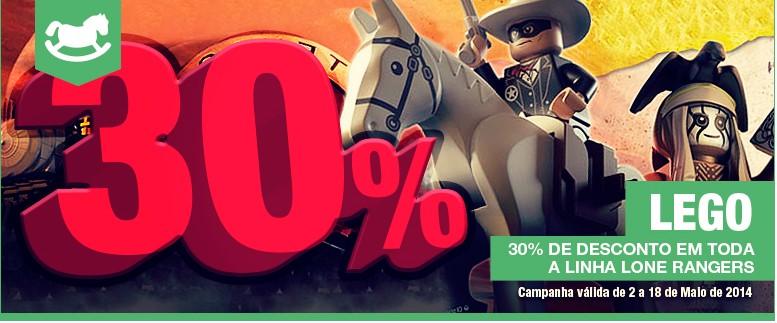 30% de desconto   EL CORTE INGLÉS   Lego até 18 maio