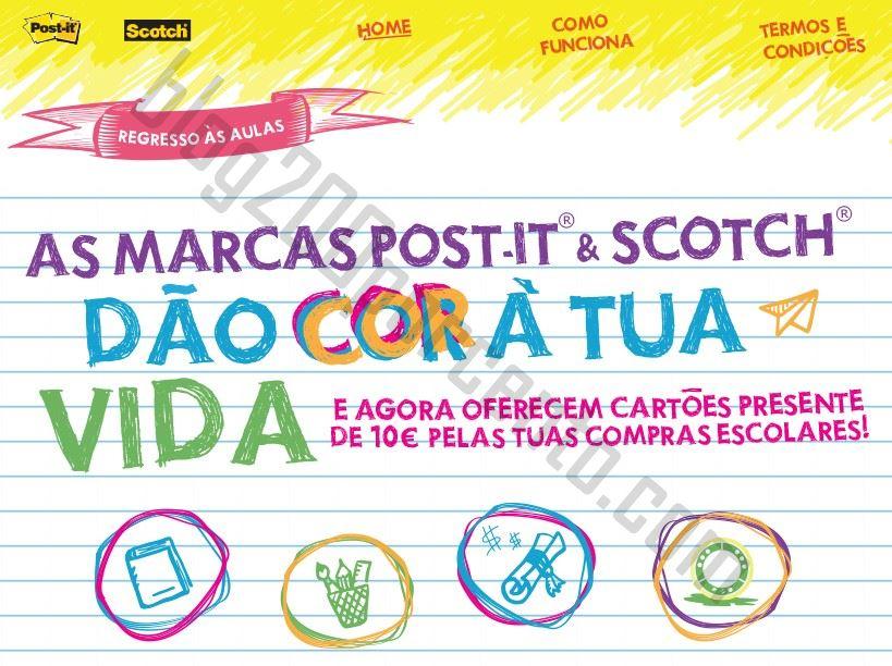 Oferta* 10€ em cartão presente STAPLES até 30 setembro