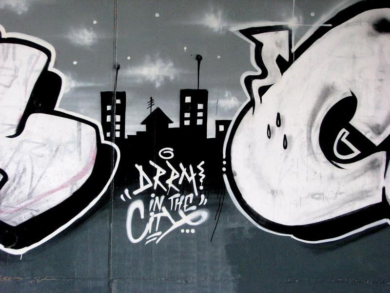 grafiti in the city
