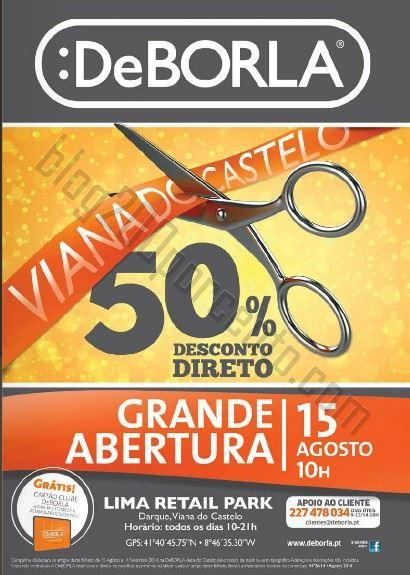 Novo Folheto DEBORLA Viana do Castelo - de 15 de agosto a 14 setembro