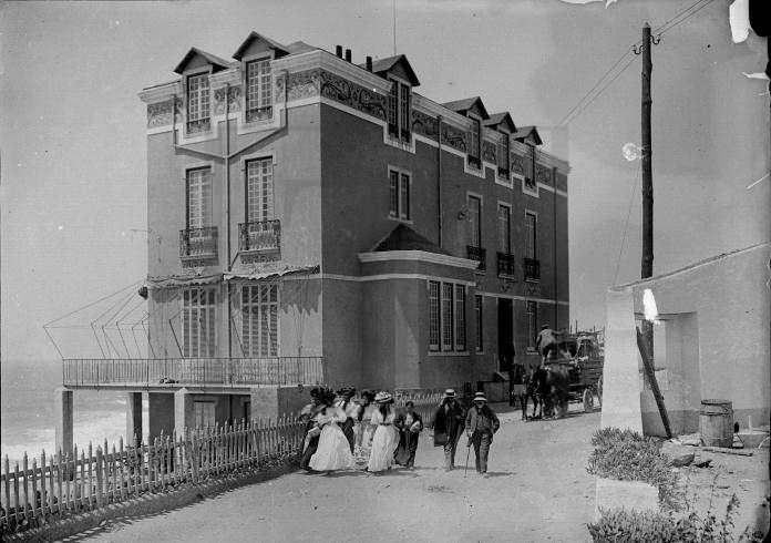 Hotel Restaurant Royal Belle Vue, Praia das Maçãs (A.N.T.T., Col. «O Século», Benoliel, lote 8, cx. 1 -1913)