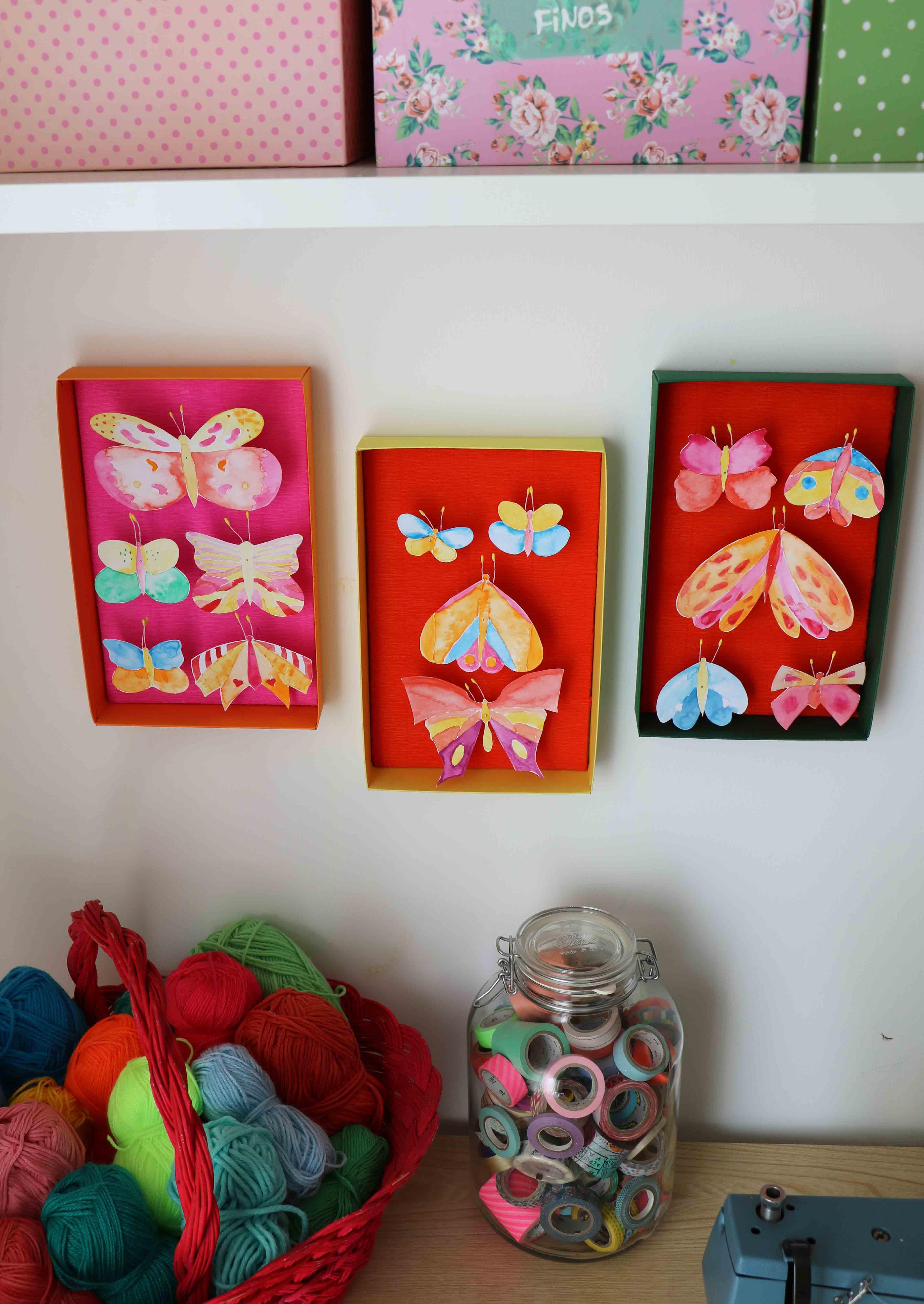 mundo-de-sofia-quadro-borboletas