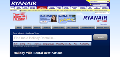 Ryanair Lettings