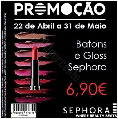 Promoção | SEPHORA | de 22 abril a 31 maio
