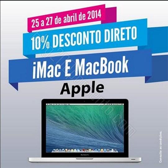 10% de desconto | RADIO POPULAR | de 25 a 27 abril - Apple