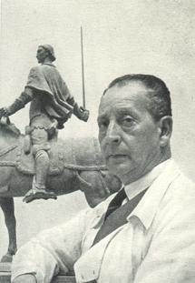 eopoldo de Almeida -  Estátua equestre de Nuno Álvares Pereira