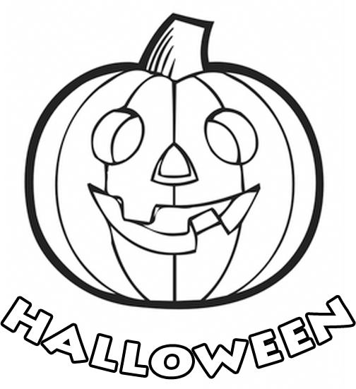 halloween letras para colorir ou imprimir titulo happy halloween