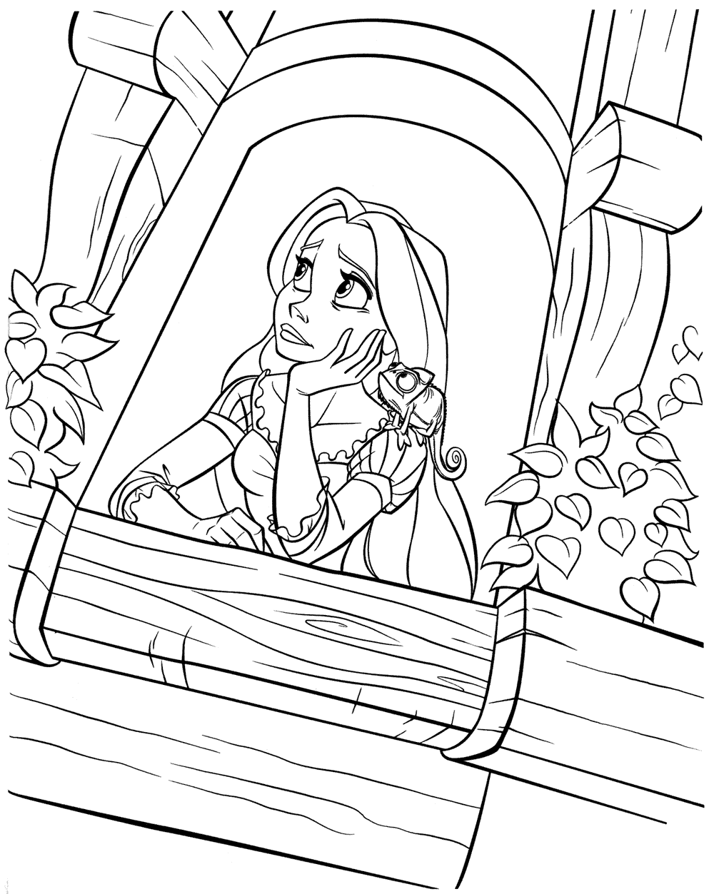 Pinta A Rapunzel 2 A Magia Da Disney