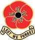 Lest we Forget  -  Não esqueçamos