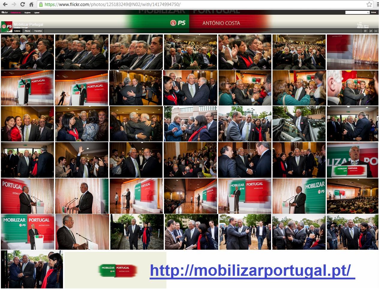 ps socialista António Costa mobilizar Portugal e José Seguro Novo Rumo