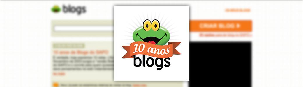 Blogs do SAPO: 10 anos