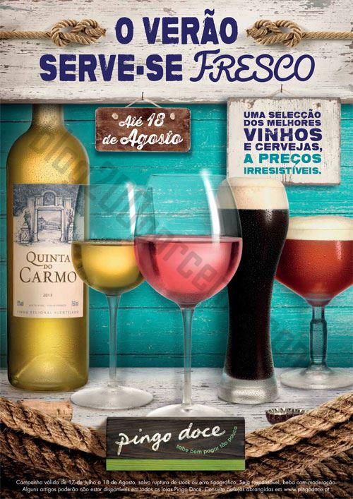 Novo Folheto PINGO DOCE O Verão serve-se Fresco de 17 julho a 8 agosto