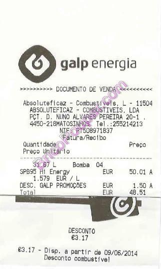 gasolina galp barata com acumulação de descontos